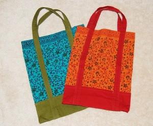 Cute Cotton Shopping Bag