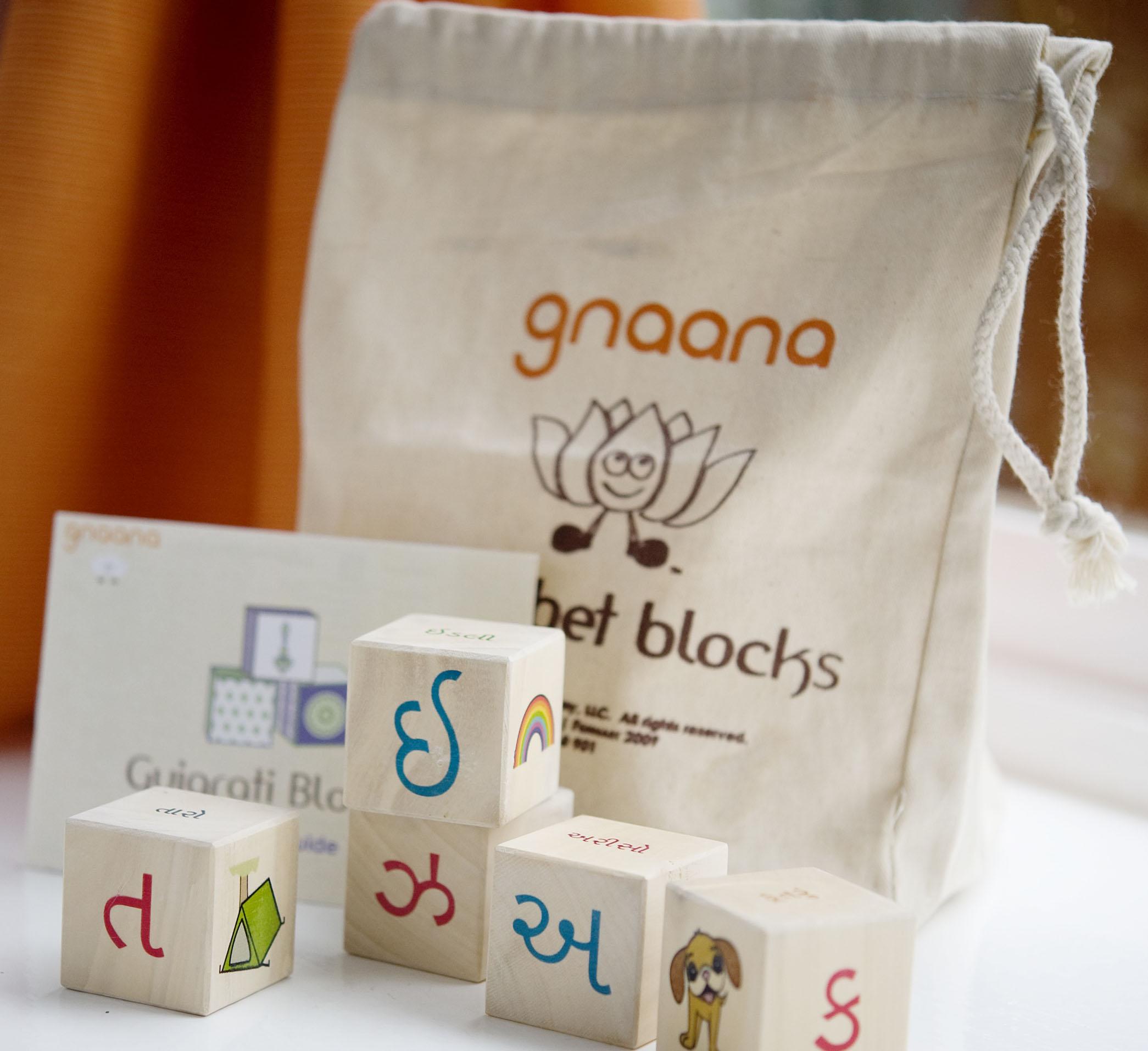 Gnaana Alphabet Blocks