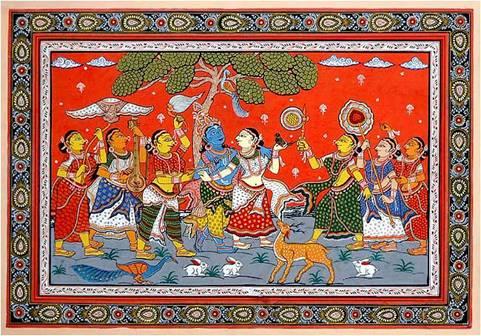 Indian Folk Art A Brief Primer For Kids